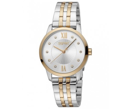 ESPRIT Crystals two tone Stainless Steel Bracelet