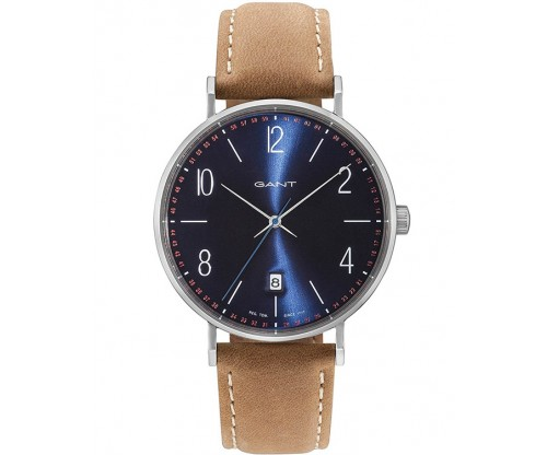 GANT Detroit Brown Leather Strap