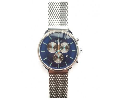GANT Greenville Chronograph Silver Stainless Steel Bracelet