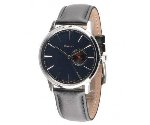 GANT Standford Black Leather Strap