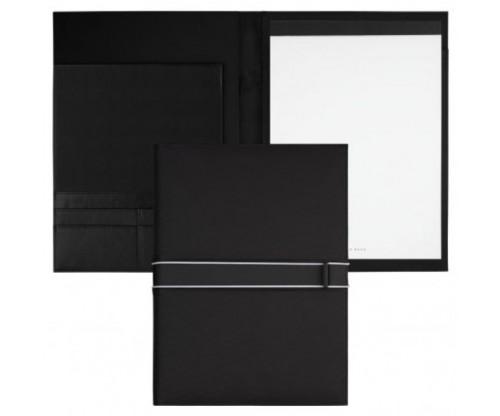 HUGO BOSS Folder A4 Outline Black