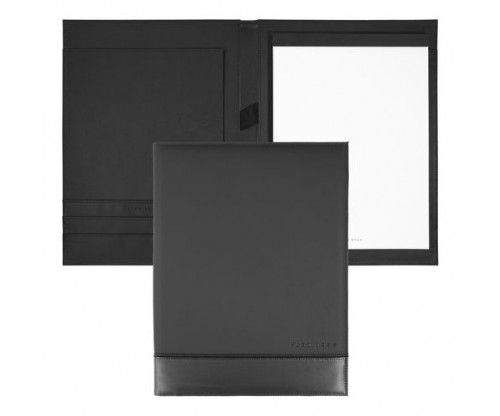HUGO BOSS Folder A4 Explore Brushed Black