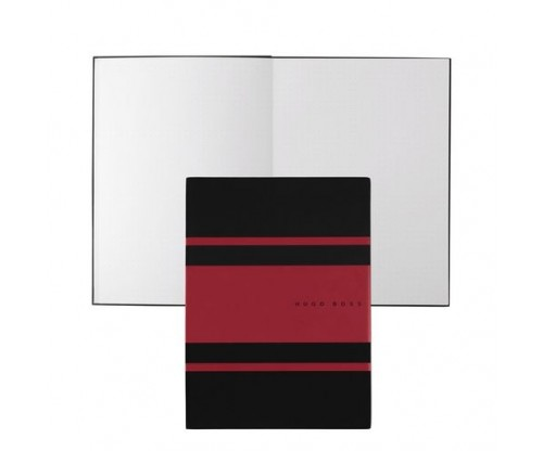 HUGO BOSS Note pad A5 Gear Matrix Red