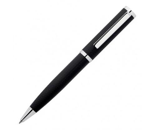 HUGO BOSS Ballpoint pen Formation Herringbone Chrome