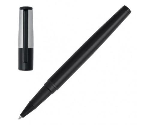 HUGO BOSS Rollerball pen Gear Minimal Black & Chrome