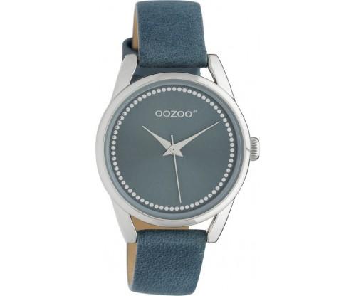 OOZOO Junior leather blue