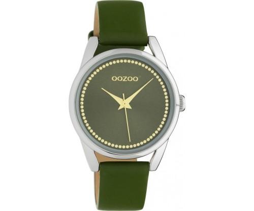 OOZOO Junior leather olive