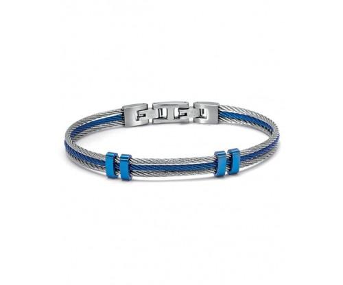 U.S. POLO Bracelet Two Tone Stainless Steel