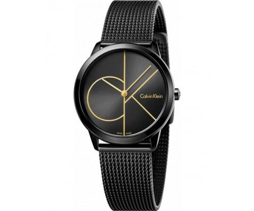 CALVIN KLEIN Minimal Black Stainless Steel Bracelet