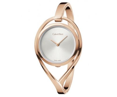 CALVIN KLEIN Light Rose Gold Stainless Steel Bracelet