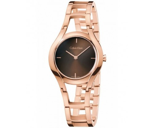 CALVIN KLEIN Class Rose Gold Stainless Steel Bracelet