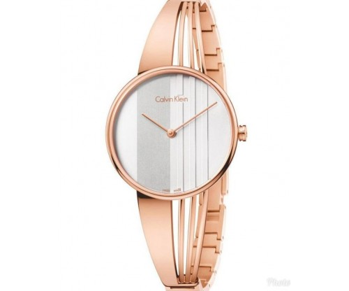 CALVIN KLEIN Drift Rose Gold Stainless Steel Bracelet