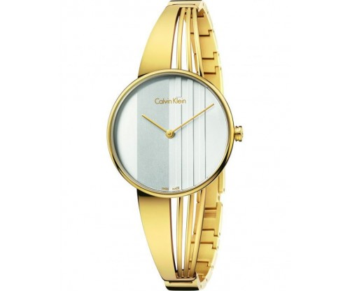 CALVIN KLEIN Drift Gold Stainless Steel Bracelet