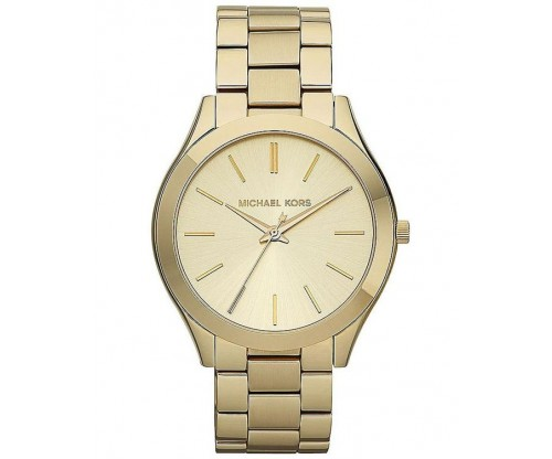 Michael KORS Runway Gold Stainless Steel Bracelet