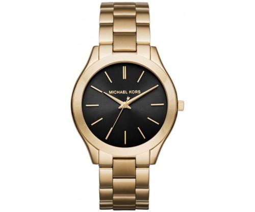 Michael KORS Runway Gold Stainless Steel Bracelet