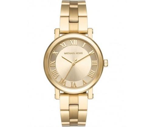 Michael KORS Norie Gold Stainless Steel Bracelet