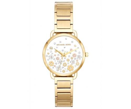 Michael KORS Portia Gold Stainless Steel Bracelet