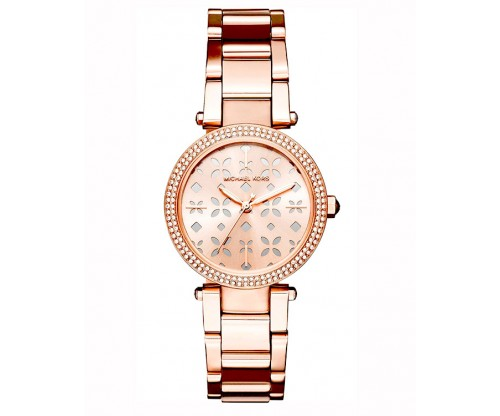 Michael KORS Mini Parker Rose Gold Stainless Steel Bracelet
