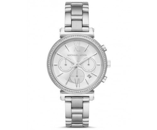 Michael KORS Sofie Chronograph Crystals Stainless Steel