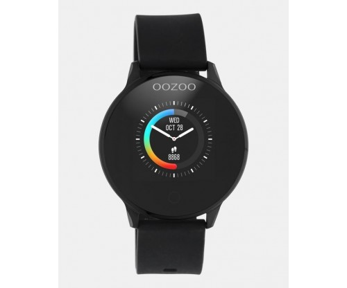 OOZOO Smartwatches black case black rubber strap