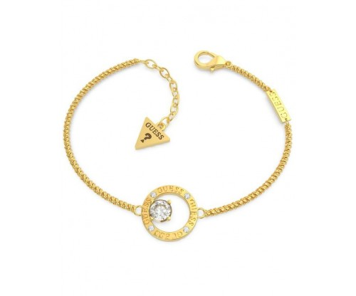 GUESS All Around You Bracelet, Stainless Steel, Gold-tone plated