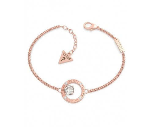 GUESS All Around You, Bracelet, Stainless Steel, Rose gold-tone plated