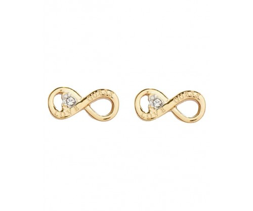 GUESS Endless Love, Earrings, Stainless Steel, Gold-tone plated