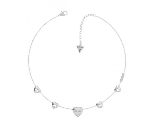 GUESS GUESS Is For Lovers, Necklace, Stainless Steel, Silver-tone plated