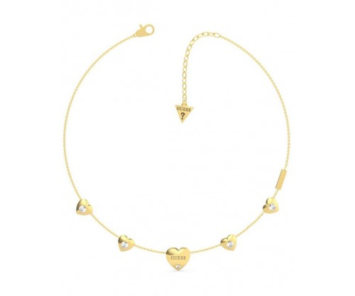 GUESS GUESS Is For Lovers, Necklace, Stainless Steel, Gold-tone plated