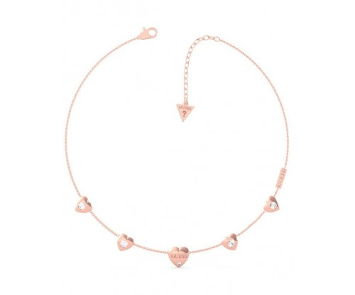 GUESS GUESS Is For Lovers, Necklace, Stainless Steel, Rose gold-tone plated
