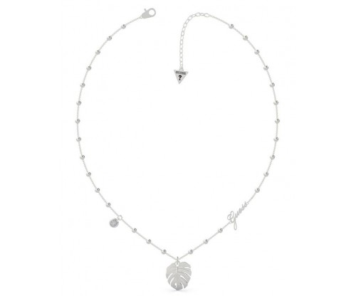 GUESS Tropical Summer, Necklace, Stainless Steel, Silver-tone plated
