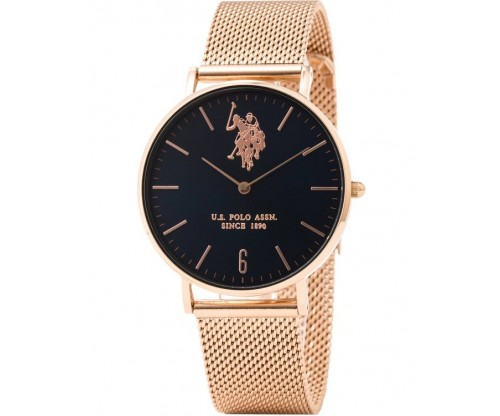 U.S. POLO Rebel Rose Gold Stainless Steel Bracelet