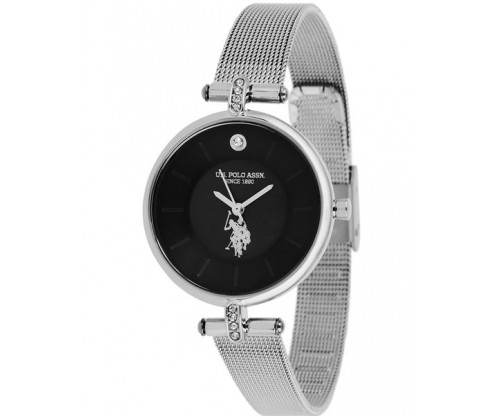 U.S. POLO Helen Crystals Stainless Steel Bracelet