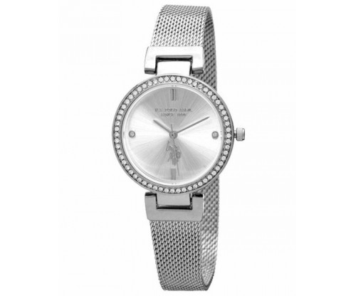 U.S. POLO Giselle Crystals Stainless Steel Bracelet