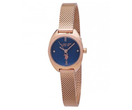 U.S. POLO Athena Rose Gold Stainless Steel Bracelet
