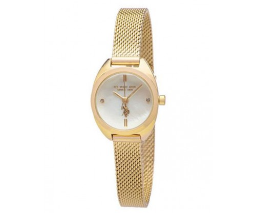 U.S. POLO Athena Gold Stainless Steel Bracelet