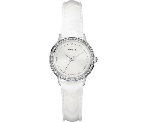 GUESS Chelsea Crystals Leather Strap
