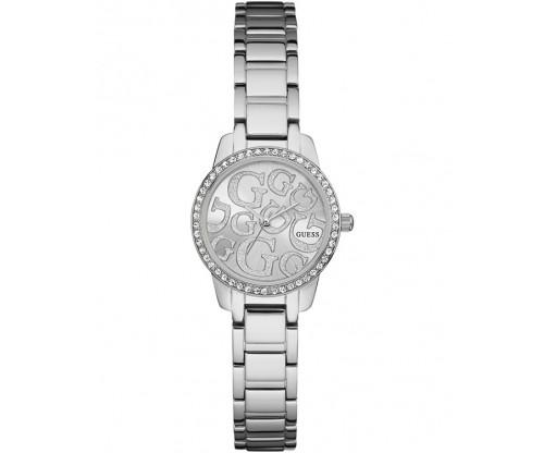 GUESS Greta Silver Stainless Steel Bracelet