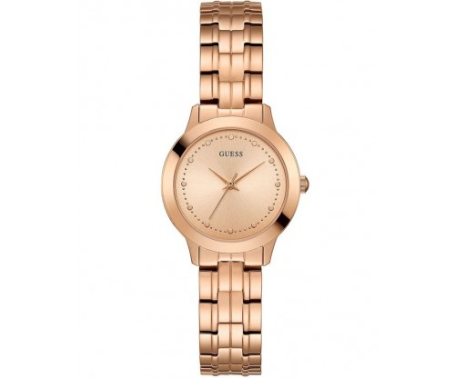 GUESS Chelsea Rose Gold Stainless Steel Bracelet