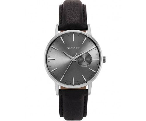 GANT Ladies Black Leather Strap